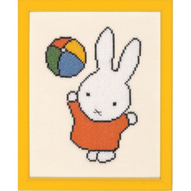 Miffy with a Ball Aida Pako