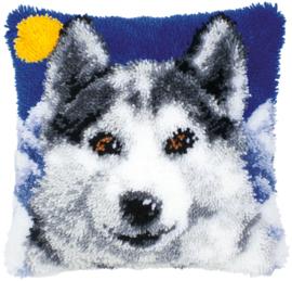 Wolf Knoopkussen Vervaco