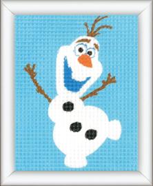 Olaf Penelope Disney Voorbedrukt Stramien Vervaco Pakket