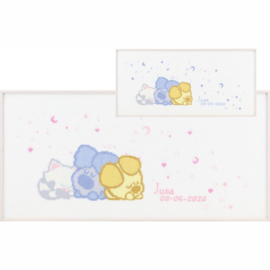 Woezel & Pip baby borduur pakket