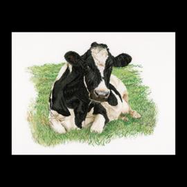 Liggende koe voorzijde Aida Telpakket Thea Gouverneur