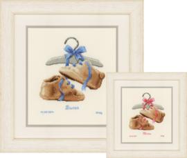 Schoentjes aan de Kapstok Aida Vervaco Telpakket