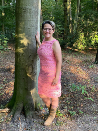 Star dress roze madebysuzan