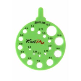 Groene Breinaaldenmeter KnitPro