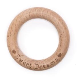 ♥ Sweet Dreams ♥ houten bijtring