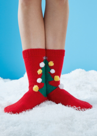 Kerstboom Sokken Breien Schachenmayr
