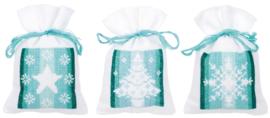 Nordic Christmas Bags Aida Vervaco
