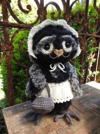 Funny Furry Owl Molly Haakpakket
