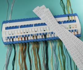 Garenhouder incl. 10 Blanco Codekaarten Pako