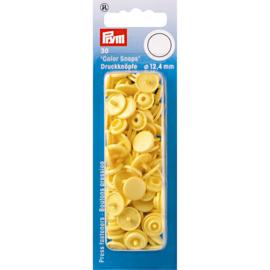 Bananen Gele Color Snaps Ronde Drukknopen Prym