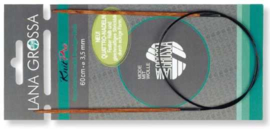 6.0 mm 80 cm Quattro Lana Grossa rondbreinaald
