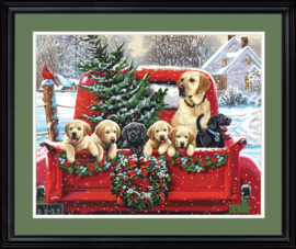Holiday Puppy Truck PBN - Dimensions