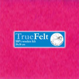 Hard Roze 20 x 30cm TrueFelt