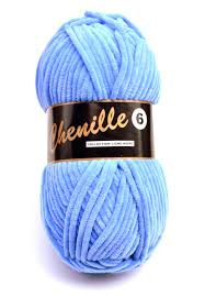 040 Bluebird Chenille 6 Lammy Yarns