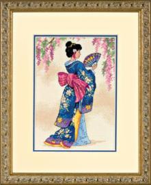 Elegant Geisha Aida Dimensions Telpakket
