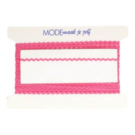036 Roze  Zigzagbandje 5mm - MMJZ