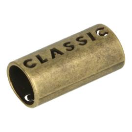 5mm Brons metalen modische koordeinde