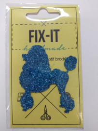 Poedel Glitter Fix-it Applicatie