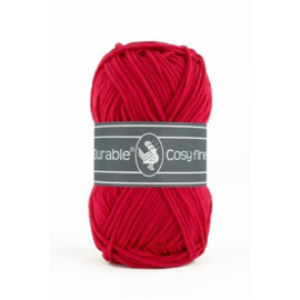317 Deep Red  Cosy fine Durable