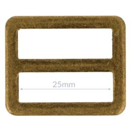 25mm Gesp metaal Bronze