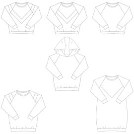 Isa Sweater, Croptop en Sweaterjurk Dames en tieners - Bel'Etoile