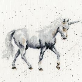 Believe in Magic Aida Wrendale Designs by Hannah Dale Bothy Threads Telpakket XHD46