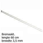"3.5mm, 60cm/24"" Single Pointed Needles Pony"