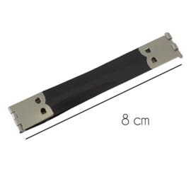 8cm Portemonnee sluiting plat
