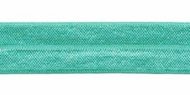 Mint Groen 20mm Elastisch Biaisband