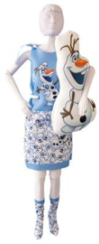 Sleepy Sweet Olaf Frozen Dress Your Doll