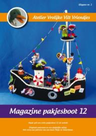 Magazine Pakjesboot 12 Vrolijke Vilt Vriendjes