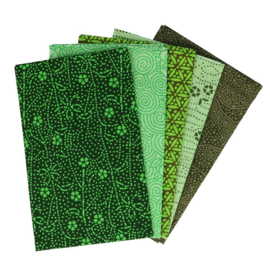 Enchanted Emerald Fat Quarter Bundle Tissu de marie