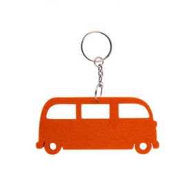 Orange Velt VW T1 Key Ring