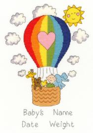 Balloon Baby Aida Bothy Threads Telpakket