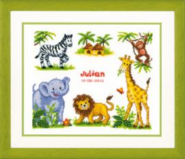 Safari Aida Vervaco Telpakket