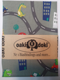 On the road Oaki Doki Fabrics