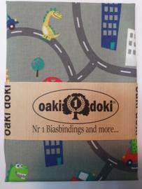 On the road Oaki Doki Fabrics