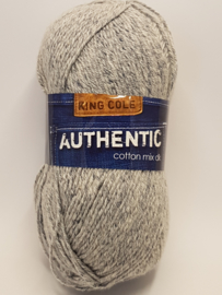 King Cole Authentic Cotton mix DK 1256 Indigo