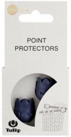 Blauwe 4 - 6.5mm Puntbeschermers Tulip