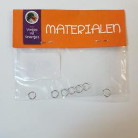 8mm Ringetjes Materialen Vrolijke Viltvriendjes
