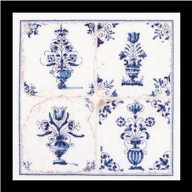 Antieke Tegels Bloemen Vazen Aida Thea Gouverneur Telpakket