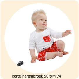 Korte harembroek maat 50 t/m 74 Annie do it yourself naaipatroon