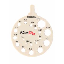 Ecru Breinaaldenmeter KnitPro
