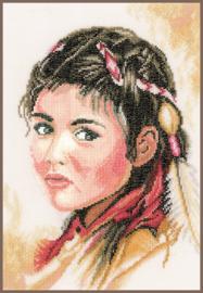 Indiaans meisje eavenwave telpakket - Lanarte