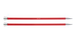 9mm Zing 40cm Breinaalden met Knop KnitPro