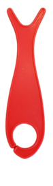 Grote breivisjes Rood