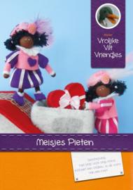 Meisjes Pieten Pakket Vrolijke Vilt Vriendjes