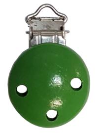 Houten Speenclip Groen