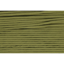 542 Leger groen soepel koord 5mm