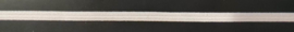 Wit plat elastiek 4mm